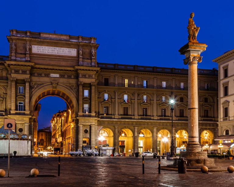 Firenze - piazza della Repubblica